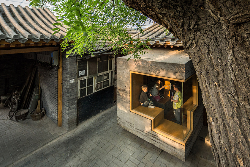 Centre d'art et bibliothèque pour enfants, Pékin (Chine), : ZAO / standardarchitecture © AKTC / Su Shengliang, ZAO, standardarchitecture