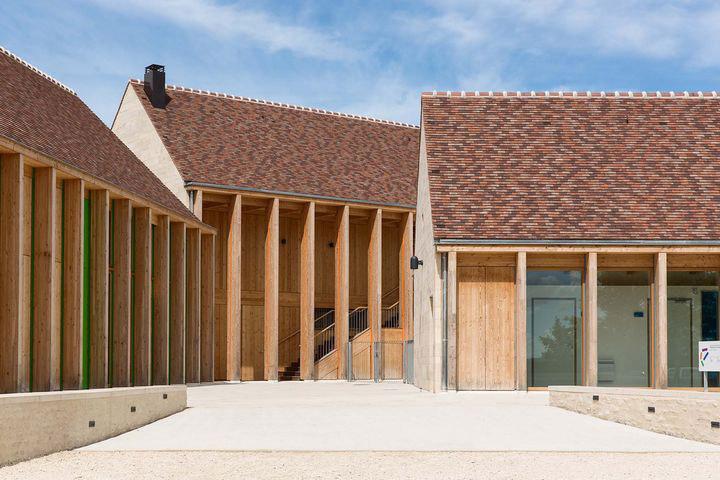 Équerre d'argent 2015 : Maison de santé de Vézelay, BQ+A arch. Ph. © Luc Boegly.