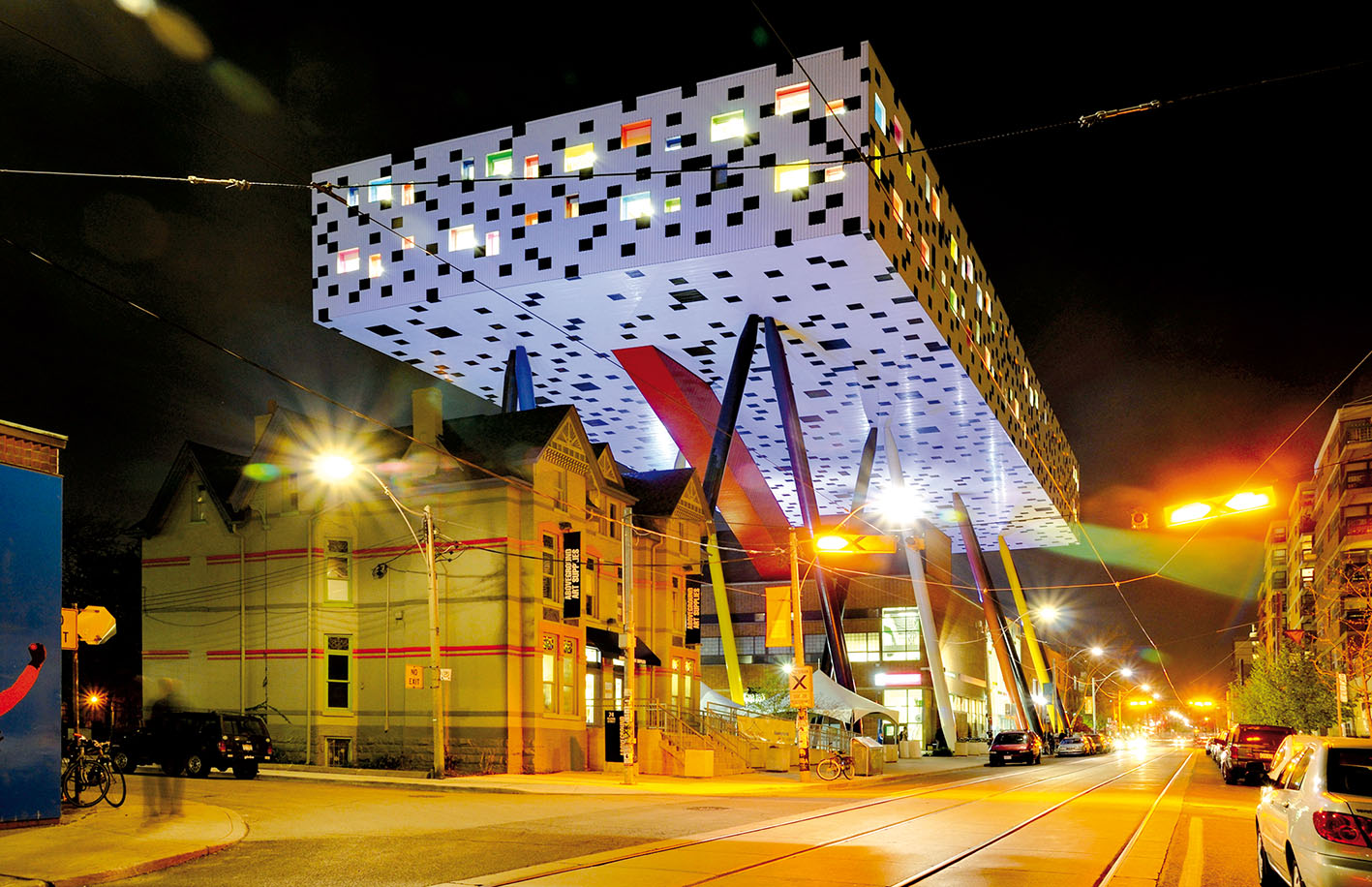 Sharp Centre for Design à Toronto, 2004, Alsop Architects. Ph. © Taxiarchos228.