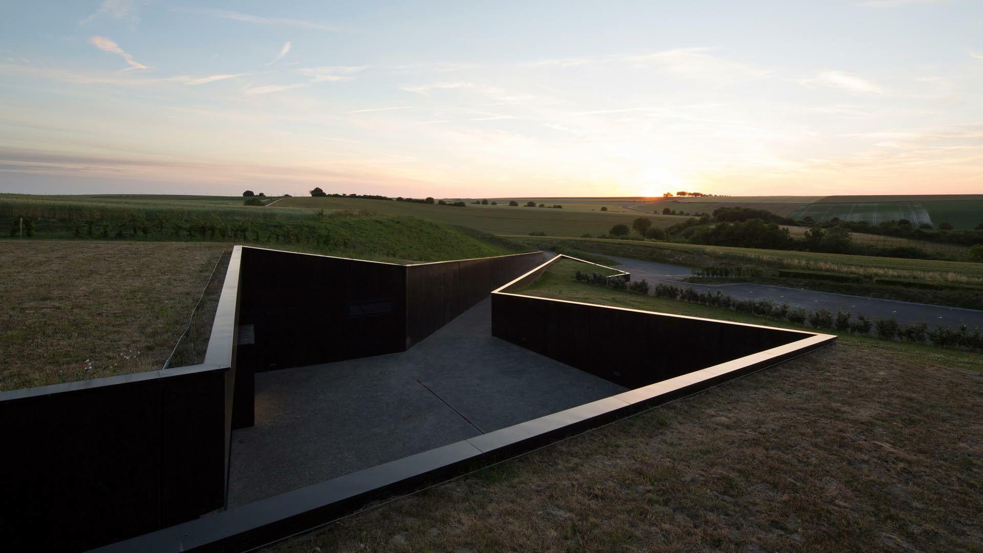 Musée de la Bataille de Valmy (Marne), 2015. Ph. © Pierre-Louis Faloci architecte.