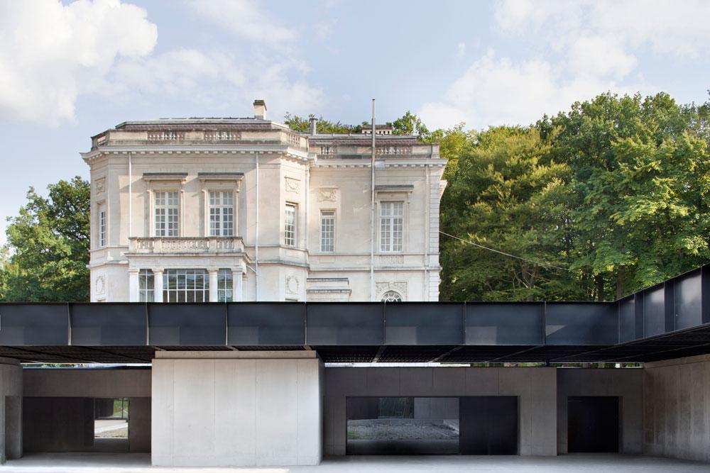 Le centre Adeps La Fraineuse à Spa, Baukunst arch. © Baukunst