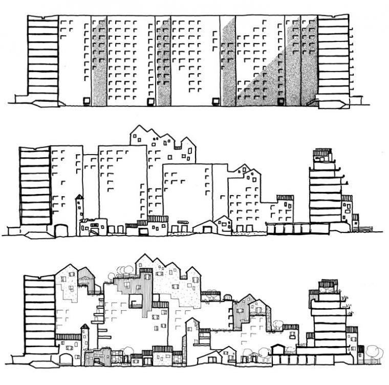 Tout est paysage une architecture habit e projets et for Architecture utopiste